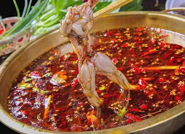 麻辣鱼(蛙)红油